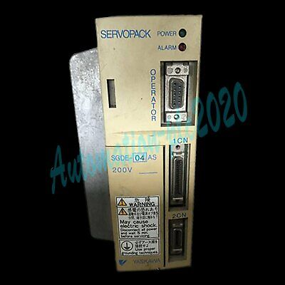 Used Yaskawa Servo Drive SGDE-04AS tested it in good condition