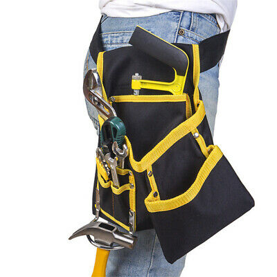 Outdoor Working Tool Bags Electricians Waist Pocket Tool Belt Pouch Bags 8C