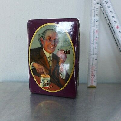 1900 Tabakdose Shag tin cigarette or pipe tobacco tin