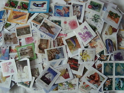 Australia Kiloware Stamps~200g~Mission Mixture~inc recent~on paper UK Seller