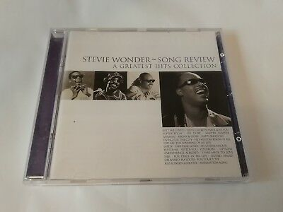 Stevie Wonder - Song Review - Greatest Hits Collection - CD (1996) Soul Motown