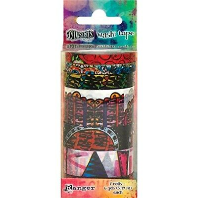 Dyan Reaveley's Dylusions Washi Tape Set-set #5 - 7 Rolls