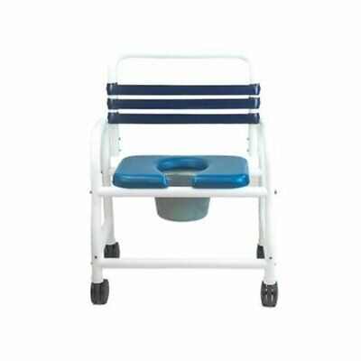 """Mor Medical  - Extra  Wide 26"""" Width, Era Infection Control Shower Commode Chair"""