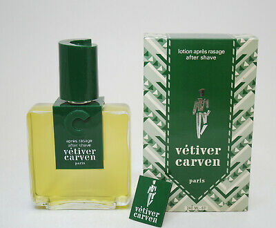 Vetiver Carven after shave 240 ml vintage