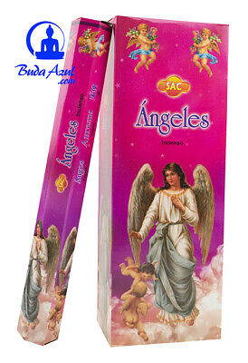 INCIENSO Angeles Angel 6 cajitas 120 gramos varillas SAC + muestras GRATIS