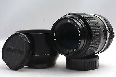 @ Ship in 24 Hrs @ Excellent! @ Nikon Nikkor 135mm f3.5 Non-Ai Telephoto MF Lens