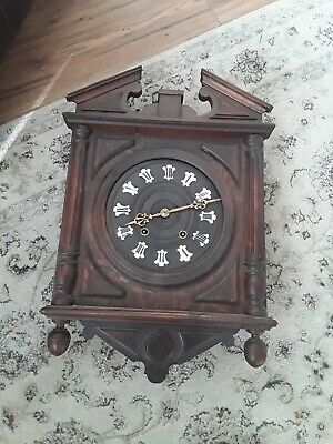 Antique/vintage wall clock French 1880 strike