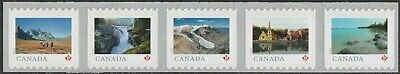 Canada 3143a Far & Wide 'P' strip set (5 stamps from coil of 5000) MNH 2019