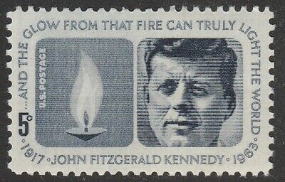 US 1246 John Kennedy 5c single MNH 1964