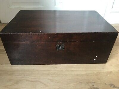 Victorian Writing Box Vintage Wooden Box