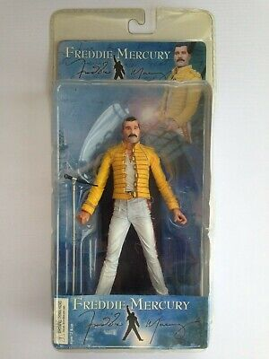 "NECA Freddie Mercury 7"" Figure ~2006~ Queen 1986 Magic Tour~ NEW UNOPENED RARE"