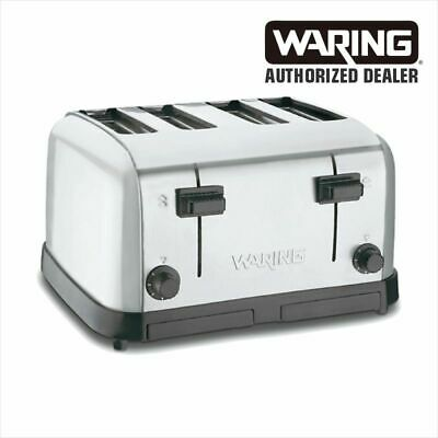 Waring WCT708 Commercial 4-Slot Toaster `120 Volt 1 Year Warranty Genuine WOW