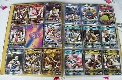 AUSTRALIAN FOOTBALL CARDS~ 2006 AFL 144/150 Collector Cards in Album