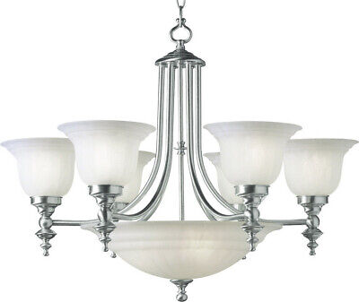 Dolan Designs 665-09 Richland Chandelier Satin Nickel