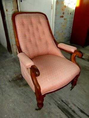 William 1V Mahogany Armchair