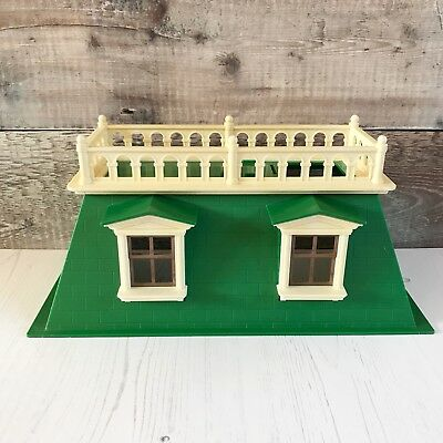 Vintage Sylvanian Families Spares   Deluxe Country Mansion Loft Roof Balcony