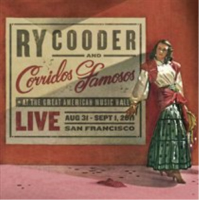 Ry Cooder & Corridos Famosos-Live in San Francisco (UK IMPORT) CD NEW