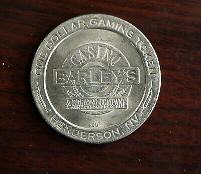 1995 Barleys Casino & Brewery Dollar Gaming Token Henderson Nevada
