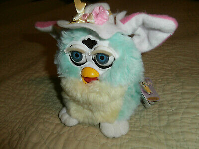 Original Spring FURBY Special Limited Edition 2000 (50,732 Of 250,000) WORKS