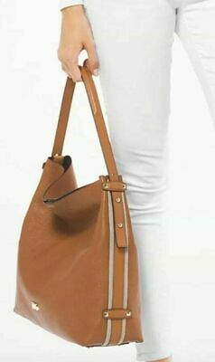 e83b22d67f472b Michael Kors NWT Griffin Large Hobo Acorn leather Pebbled Tote with Zip  Pouch