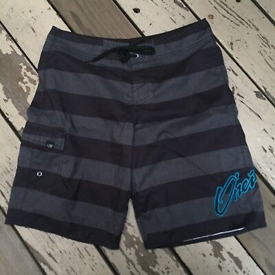 262b44c3d1 O'NEILL Surf Men's Striped Surfing Swim Board Shorts waist size 34