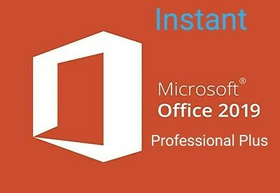 Office 2019 professional Plus Key 32/64Bit MS Download License For 1PC Lifetime