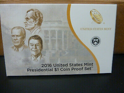 2016 US Mint Presidential dollar 1$ Coin Proof set United States