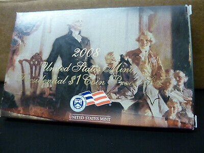 2008 US Mint Presidential dollar 1$ Coin Proof set United States