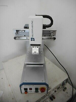 I&J7900-LF -- FISNAR 3 AXIS DISPENSING ROBOT X/Y + Z -- and TEACH PENDANT