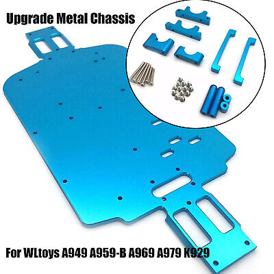Upgrade Metal Chassis Bottom For 1/18 WLtoys A949 A959-B A969 A979 K929 RC DIY