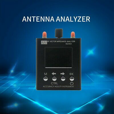 1.1MHz-1.3GHz N2061SA UV RF Vector Impedance ANT SWR Antenna Analyzer Meter RT