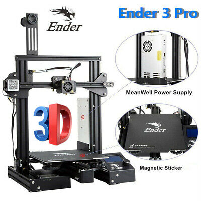 Creality 3D Ender-3 Pro 3D Printer DIY Kit MK-10 Extruder 220*220*250mm 110/240V