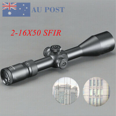 Hunting 2-16X50 SFIR Mil-Dot Reticle Scope Sight Airsoft Tactical Riflescope