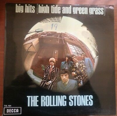 The Rolling Stones – Big Hits (High Tide And Green Grass) - Vinilo
