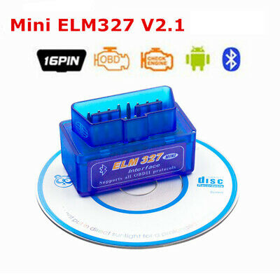Super ELM327 V2.1 Mini OBDII OBD2 BT Car Scanner Android Torque Auto Scan Tool