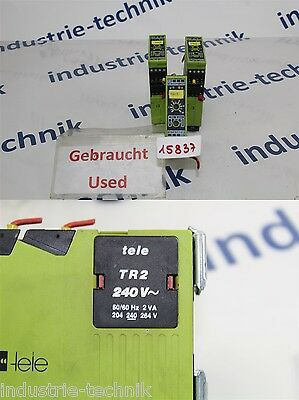 Tele Tr2 Time Relay 240 Volt Time Delay Relay Multifunction