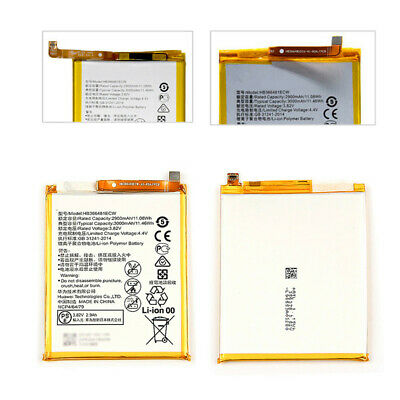 3000mAh HB366481ECW Replace Internal Battery For Huawei P9 Lite / Honor 8 Tools