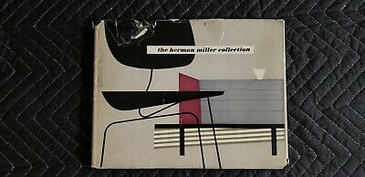 1952 George Nelson HERMAN MILLER COLLECTION Furniture Catalog w/ Jacket