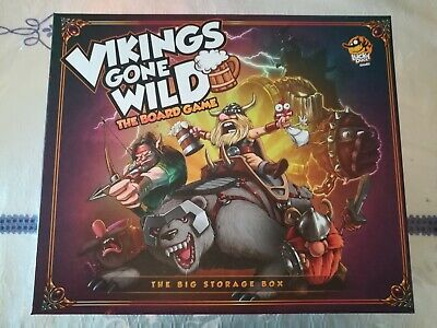 Vikings Gone Wild ENG with MINIATURES, Big Box, Playmats, Expansions and Promos