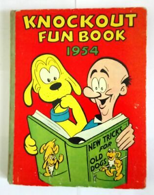Knockout Fun Book Annual 1954 Collectable Hardcover Very Good Condition Comic  *