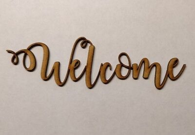 wooden laundry word sign laser cut 6mm thick mdf blank