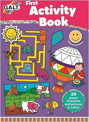 Galt Dot To Dot Book Kids Art Craft Toy Children's Picture Books Bn Outstanding Features Children & Young Adults