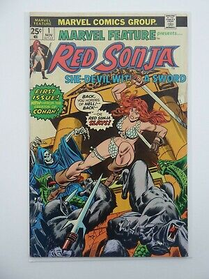 Marvel Feature Presents Red Sonja Issue #1- fn- - First Printing