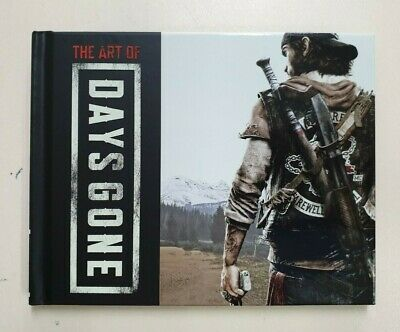 The Art of Days Gone - Mini Art Book From Collectors Edition - NEW