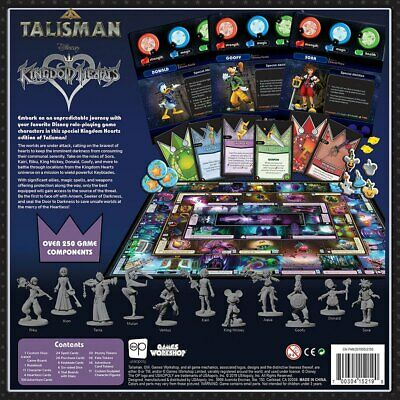 Talisman Kingdom Hearts Edition Board Game English Version by Usaopoly