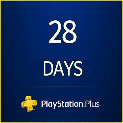 Ps Plus 28 Days Trial Ps4 - Ps3 - Ps Vita Playstation (No Code)