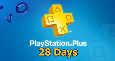 Psn Plus 28 Days -Ps4-Ps3-Ps Vita - Playstation (No Code)