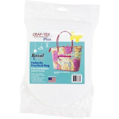 Bosal Craf-tex Plus Double Sided Fusible Stabilizer-2 Pre-cut Bottoms