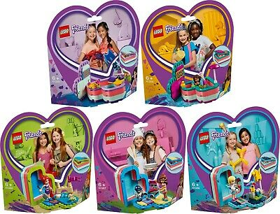 LEGO® Friends 41388 41387 41386 41385 41384 sommerliche Herzbox N6/19