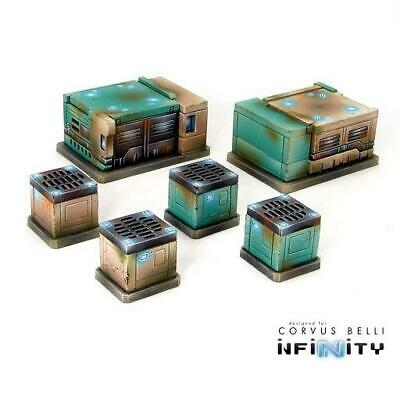 Warsenal Infinity Terrain AC Units Pack SW